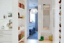 Waltrovka chodby a ulozne prostory