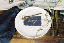 Stół na weselu