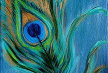 pittura e colori usati