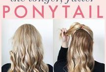 Easy Hair Dos / Different ways to wear hair and style it