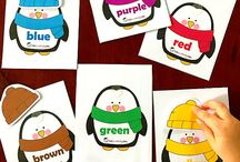 Winter nursery school creative