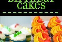 Birthday Cakes and Desserts! / fun birthday cakes