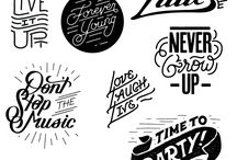 Typography, Letter, Logo and Fonts