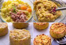 tortinhas de batatas
