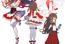 anime/drawings