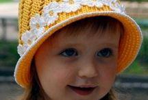 летние шапочки крючком