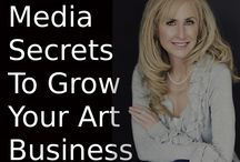 Business Tips for Artists / Get tips from other artists and pros on running your art business, growing your online presence and being more successful.