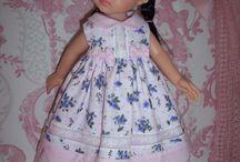 Mes petites créations / Tenues pour poupées par Nathalie