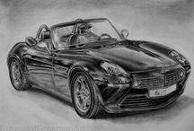 Rysunek ołówkiem II / BMW Z8