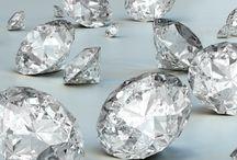 Diamanté ire / The forever sparkling diamond can survive ages..