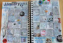Art Jornals | Sketchbooks | Diarys