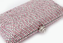 Bridal - Crystal Couture Bags / Here is a beautiful selection of all the Crystal Clutch Bags from Crystal Couture.com