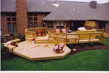 Home: Deck Ideas / by Julie Ann Knott