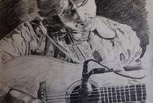 Sheila Samu-Doig's Portrait Studio / Pastel, Charcoal and Pencil.