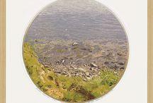 Siemen Dijkstra / Bezielde landschappen van de onbetwiste meester van de kleurenhoutsnede.  Internationaal bekend en geroemd om zijn ongeëvenaarde techniek van kleurenhoutsneden en zijn sfeervolle gedetailleerde weergaven van het Noordelijk landschap.