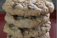 Choc chip oat cookies / Choc chip oat cookies