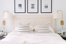 Calm, relaxed bedrooms