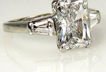 A diamond is forever / Vintage, Estate & Antique Diamond Jewelry