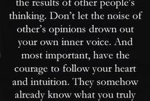 Sayings I love