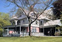"Teddy Roosevelt's Sagamore Hill: The ""Most Vividly Personal of the Presidential Shrines"" / Sagamore Hill, the Long Island home President Theodore Roosevelt loved so much, exudes every part of his energetic personality and his passion for nature, hunting, and the environment.   http://bit.ly/1msSX1U"