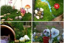 fairy gardens / by Mary Maher