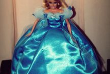 Hand Made Barbie Doll Gown / My Do-it-Yourself and hand sewn barbie doll gown collection..