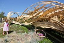 Bamboo Sculpture  / It's inspirational how something so seemingly rigid as bamboo can be shaped into something so fluid.