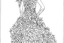 Colouring Pages - for adults