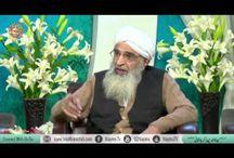 "Allama Munir Ahmad Yousufi / """" I love Islam """". www.seedharastah.com"