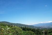 Costa Rica valley views & mountain views