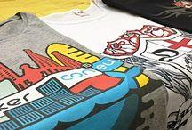 Zeefdruk T-shirts