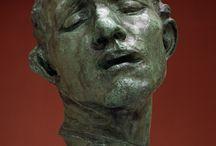 Year 7  Sculptural Heads - Rodin