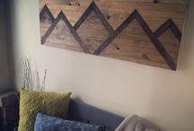 Lakás dekor / Butorok, ötletek
