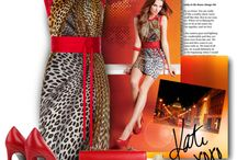 Funky fashions Red