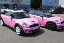 Pink car wraps / Pink! its all about pink car wraps and the odd pink motorbike wrap