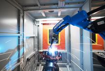 AKE Robotics Welding Cell Yaskawa / Universal robotic welding cell