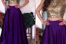 Sangeet Outfits- #WedStreetStyle / Indian wedding Outfits of Cocktails