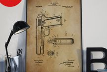 Patent Prints / Only a real man would repin these posts!