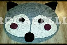 fox < carpet crochet>