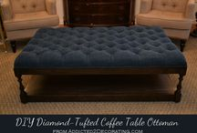 Ottoman/bench/coffee table
