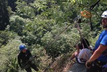 Abseil at Canonteign Falls Saturday, 13th July 2013