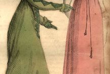 1800-1820 Regency - Evening Dress
