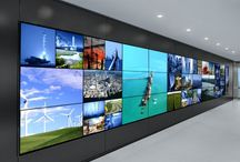 Stunning Video Walls / Beautiful artistic, mosaic video walls and stunning grid designs from around the world.