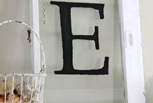 Monogram Window