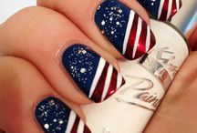 4th of July Nails / Nail art inspiration for the 4th of July