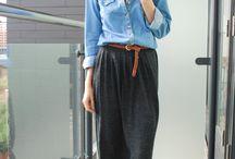 Maxi faldas