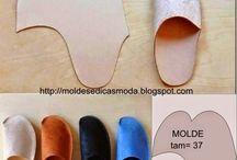 Sapatilhas de feltro