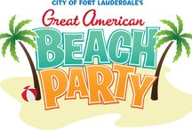 Great American Beach Party - Memorial Day / Kick off the summer at the City of Fort Lauderdale's Annual Great American Beach Party, Memorial Day Weekend on Fort Lauderdale Beach. This FREE event along Fort Lauderdale's world-famous A1A is transformed into an entertainment mecca, featuring music, live performances, and activities for the entire family.