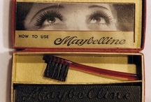 vintage makeup products