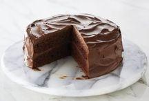 Devils chocolate sponge